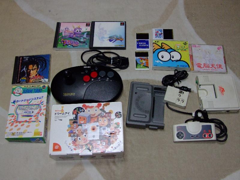 NeoGeo PCE Dreamcast